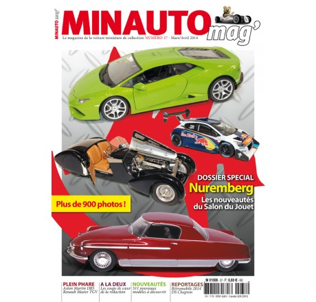 minauto mag 39 no37 le magazine de voitures miniatures. Black Bedroom Furniture Sets. Home Design Ideas