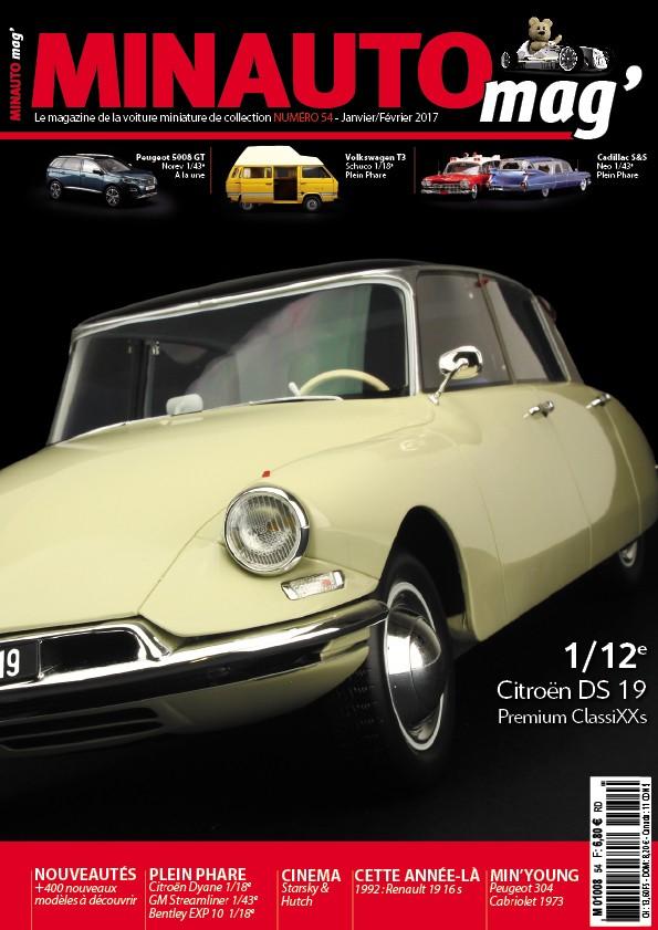 minauto mag 39 no54 le magazine de la voiture miniature de collection. Black Bedroom Furniture Sets. Home Design Ideas
