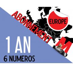 Abonnement EUROPE Minauto 1 an (6 numéros)