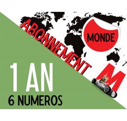 Abonnement MONDE Minauto 1 an (6 numéros)