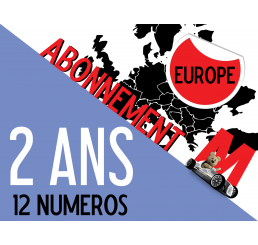 Abonnement EUROPE Minauto 2 ans (12 numéros)