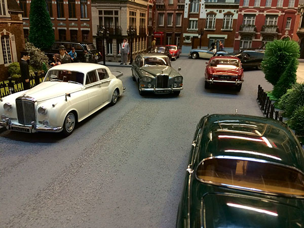 Londres Bentley, Jaguar, Austin Healey miniature