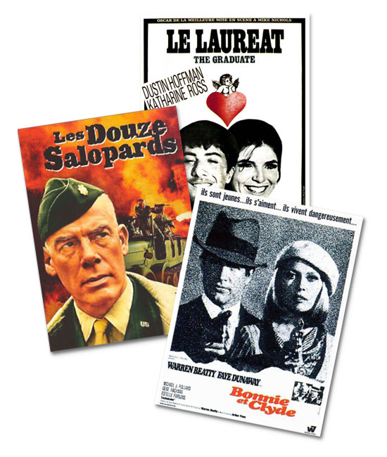 Le box office cinéma 1967