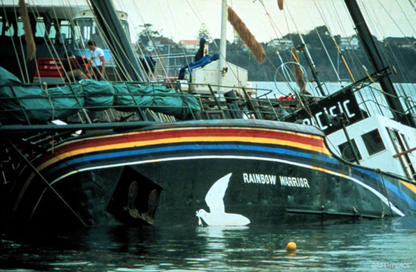 1985, Rainbow Warrior