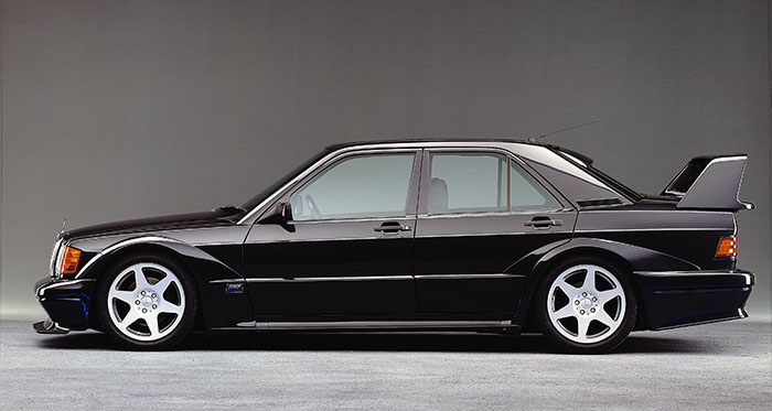 La Mercedes 190 E 2.5 16S Evolution II