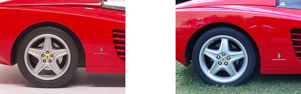 Ferrari Testa Rossa miniature