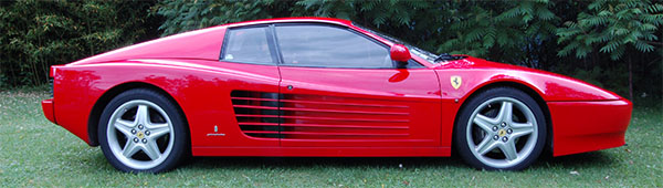 Ferrari 512 Testa Rossa profil