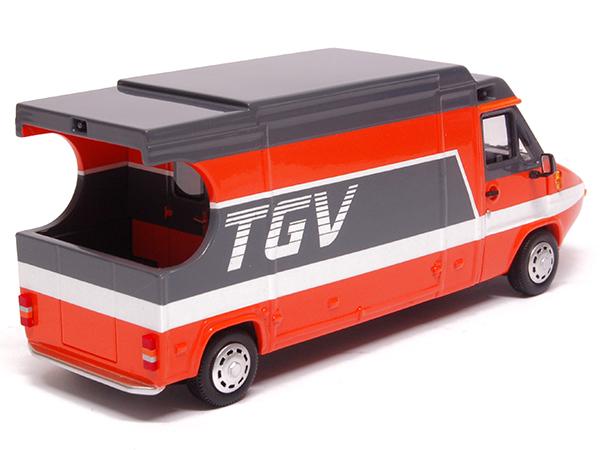 Miniature Renault Master TGV