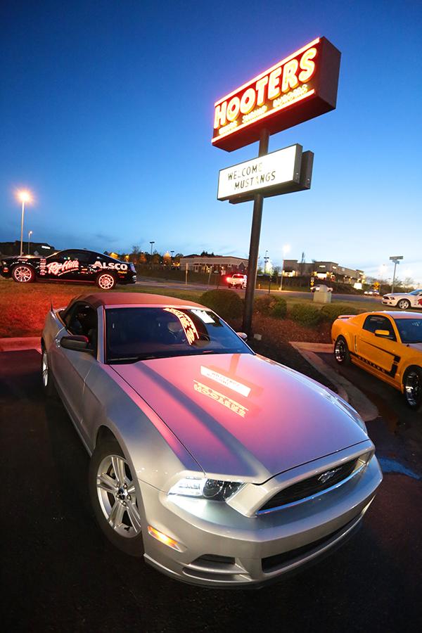 50 ans de la Mustang