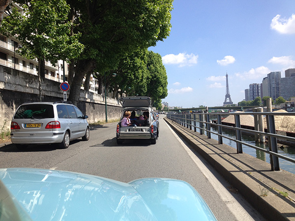 Paris aux mains d'amateurs et collectionneurs de DS !