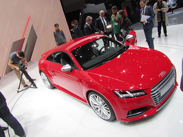 Audi Salon automobile Genève 2015