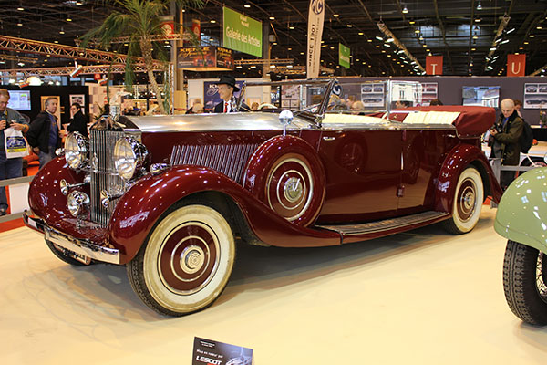 Salon Rétromobile 2014