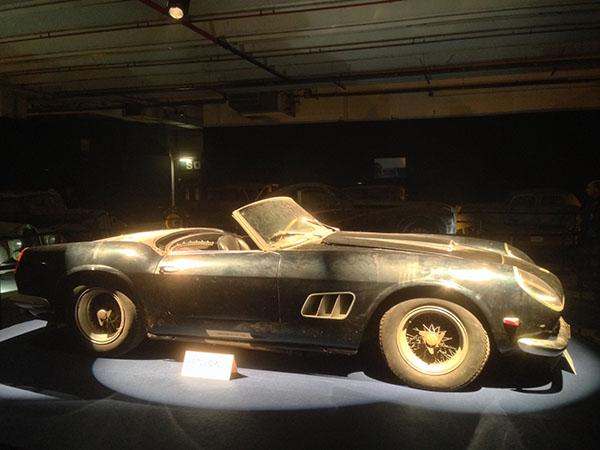 Record de vente pour la 250 GT SWB Spyder California pour 14,2 Millions d'euros !