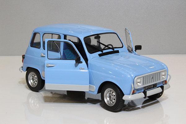 Miniature Renault 4L